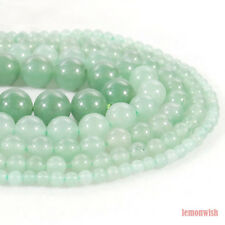 Natural Green Aventurine Stone Spacer Beads 15.5'' 2mm 3mm 4mm 6mm 8mm 10mm 12mm