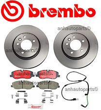 Land Rover LR3 4.0 Brembo Complete Front Brake Rotors Kit & Pads Sensor