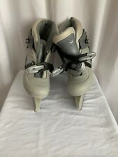 Ice Skates, Ccm Tyke Grade School, Gray, Adjustable insole and skate, size 1-4