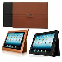 Luxury Magnetic PU Soft Leather Flip Protective Stand Case Cover iPad & iPad 2