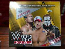 2016 Topps WWE Then Now Forever Wrestling Factory Sealed Hobby Box