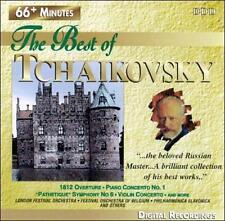 "Best of Tchaikovsky ~ 1812 Overture - Piano Concerto No. 1 ""Pathetique"" Symphony"