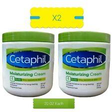 CETAPHIL MOISTURIZING CREAM 2 PACK FOR VERY DRY, SENSITIVE SKIN