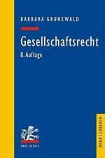 Gesellschaftsrecht von Barbara Grunewald | Buch | Zustand gut