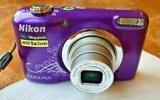 Nikon Coolpix A10 camera - Excellent condition - inc. 4GB SanDisk SD card