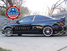 2001-2005 Honda Civic Coupe 2Pc Chrome Pillar Post Stainless Steel Trim Door