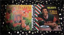 ROCCO GRANATA * 2 TOP Singles * GELIEBTE + BUONA SERA MADALENA