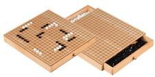 30 X 28,5 cm Go and Gobang Buche Holz Kassette Brett mit Spielsteine Bang Neu