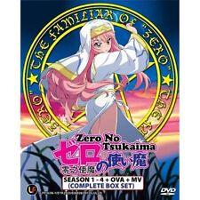 Zero No Tsukaima Sea 1-4+Ova+MV Complete Set
