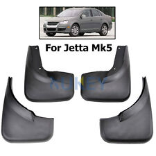 Splash Guards Mud Flap Guards MudFlaps Fit For 05-11 VW Jetta MK5 A5 Sedan TDI