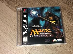 Magic the Gathering Battlemage Playstation 1 PS1 w/Manual & Case Authentic