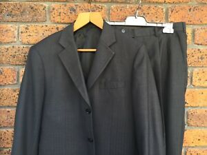 Hand Made In HK, Mens Fine Wool Suit 42