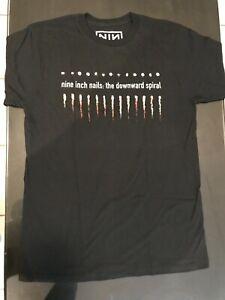 NINE INCH NAILS - DOWNWARD SPIRAL - Official T-Shirt New ORIGINAL