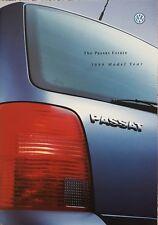 Volkswagen Passat Estate Sales Brochure -  July 1998 inc VR5 & V6 Synchro