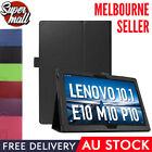 Leather Flip Folding Stand Case Cover For Lenovo Tab E10 M10 P10 M10 Plus Tablet
