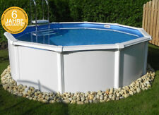 Stahlwand schwimmbecken g nstig kaufen ebay for Pool holzoptik metall