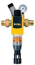 """Rückspülfilter Galileo HWS 1 1/4"""" Cillit m. Anschlussmodul u. Druckminderer"""