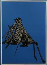 SCANAVINO EMILIO litografia su carta 70x100cm 100 esemplari