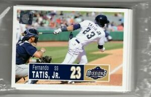 2018 San Antonio Missions Minors Team Card Set - FERNANDO TATIS, JR (RC)