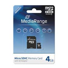 4gb MicroSD Class 10 Speicherkarte Micro SDHC Sd-adapter