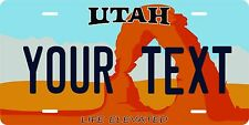 Utah 1992 Tag License Plate Personalized Auto Car Custom VEHICLE OR MOPED