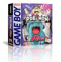 Pokemon Team Rocket Game + Case Nintendo Game boy (GBC GBA) - (English Fan Hack)