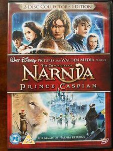 Prince Caspian DVD 2008 Chronicles of Narnia Fantasy Movie 2-Discs