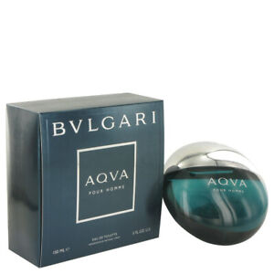 AQUA POUR HOMME by Bvlgari 5 oz 150 ml EDT Cologne Spray for Men New in Box