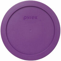 Pyrex 7201-PC Thistle Purple Plastic Storage Replacement Lid Cover