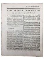 Ordre de Malte 1791 Île de Malte Saint Jean Ordre du Saint Esprit Grèce Turquie