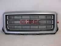 OEM 2014 2015 GMC SIERRA 1500 FRONT GRILLE 23255960 SILVER