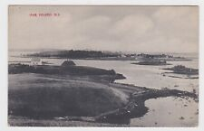 1909 Oak Island Harbor Nova Scotia Canada Postcard Stamp and Cancel Used