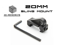 Airsoft BELL HK416 Type Rear Sight for 20mm RIS RAS Picatinny Rail