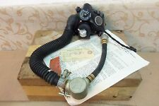NOS Military RAF TYPE M MK.2 OXYGEN MASK MICROPHONE & TUBE ASSEMBLY # 6D/1837