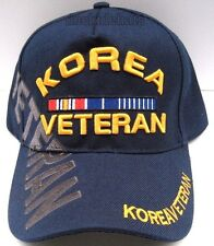 KOREA VETERAN Cap/Hat BLUE Military Style 2*FREE Shipping*