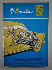 Catalogue des Pièces Autobianchi Primula Carrosserie De 09/1966