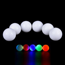 Multi-Color Light Up Flashing LED Electronic Golf Practice Balls Night GolfingIY