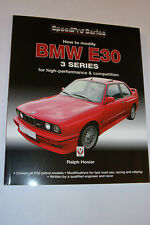 Cómo modificar BMW E30 serie 3 para alto rendimiento y manual de competencia
