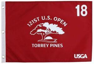 2021 US Open OFFICIAL (Torrey Pines) SCREEN PRINT Flag