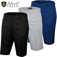 ISLAND GREEN MENS TOUR PERFORMANCE GOLF SHORTS -ALL COLOURS & SIZES / 2020 MODEL