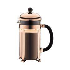 NEW Bodum Chambord Coffee Press 8 Cup Copper (RRP $70)