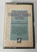 The Worlds Favorite Piano Music Vol. 1 Philippe Entremont Audio Cassette