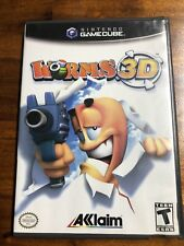 Worms 3D (Nintendo GameCube, 2004) Tested Works.