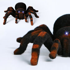 Halloween Remote Control Spider RC 8'' 4CH Tarantula Creepy Prank Toy