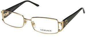 Versace VE1163M Eyeglass Frames 1252-52 - Pale Gold