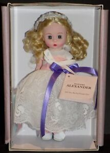 """MADAME ALEXANDER WILL YOU BE MY FLOWER GIRL 8"""" DOLL 71655"""