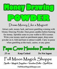 Money Drawing Powder Hoodoo Dust Attract Cash Win Gambling Draw Income Success
