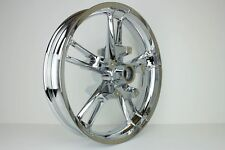 "Harley Chrome Front 19"" Enforcer Wheel for Harley 14-17 FLH/X Chromed"