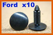 10 Ford bumper fender cover fastener retainer clip