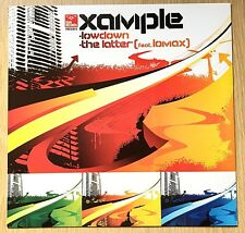 "Xample – Lowdown / The Latter 12"" Vinyl Record RAM Records – RAMM 65 DnB"